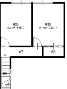 余目1階平面図A-2