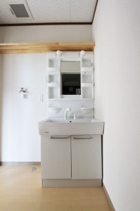 リーブルⅡ 洗面所